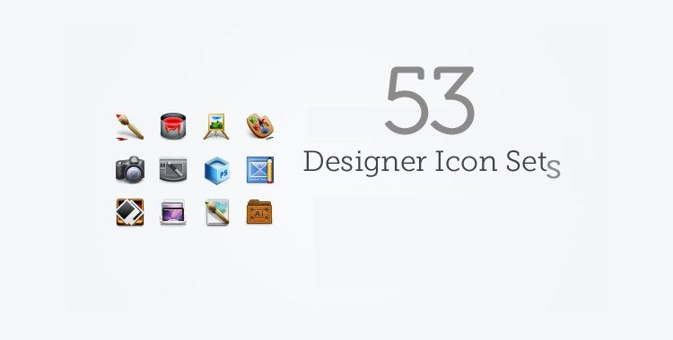 53 Increadible Free Icons Sets for Web Designers