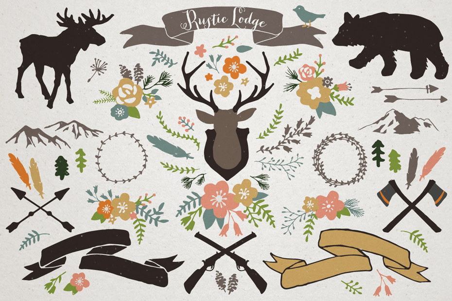 Bestselling Hand Drawn Vector Clipart Bundle With Over 1000 Files!
