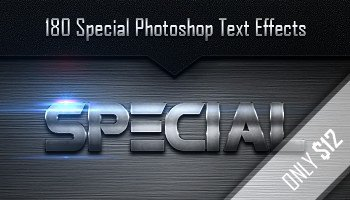 Download A Massive Bundle of 180 Metal Text Effects