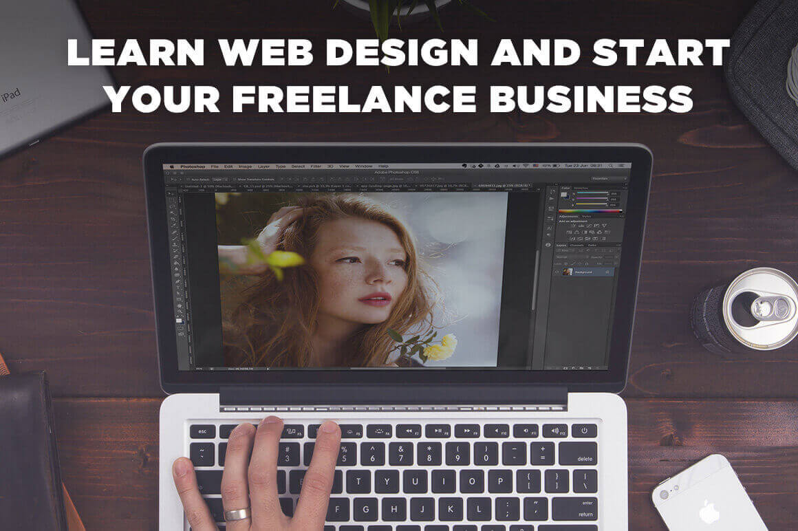 How to Learn Web Design and Start Your Freelance Business