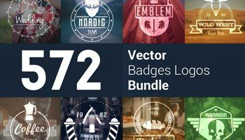Stock Up! 572 Modern Logos & Badges For Every Client and Project