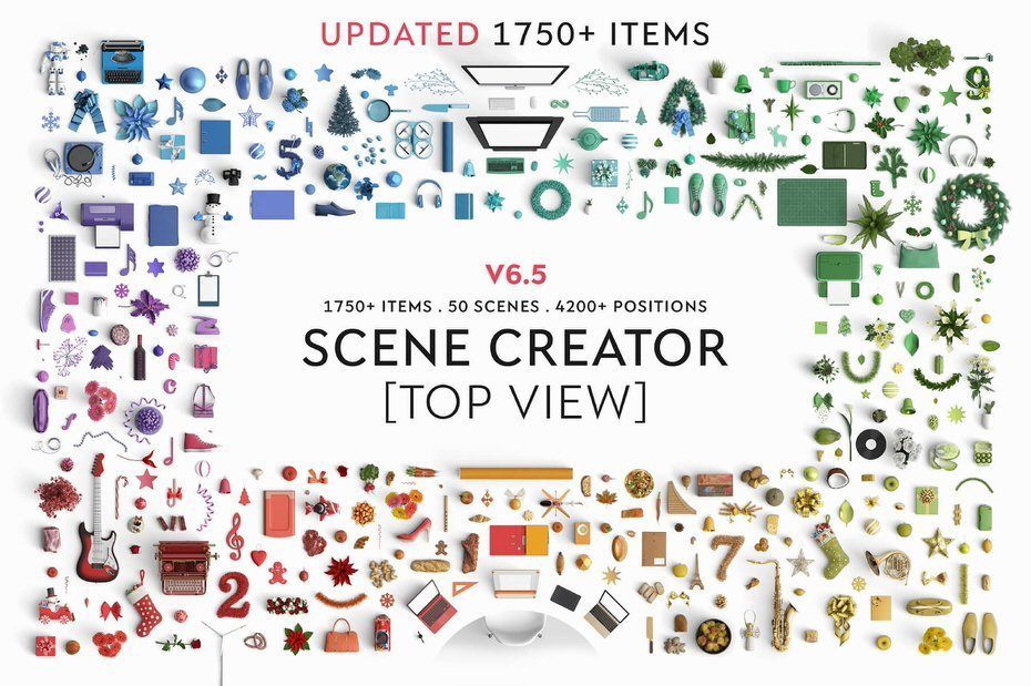 Finally A Mock Up Scene Creator With Top View Has Arrived