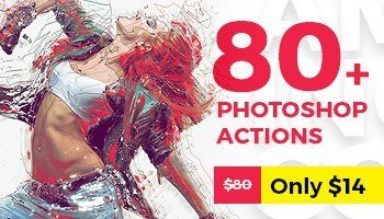 Grab ALL 80 Best Selling Photoshop Actions of 2017 – Only This Week!