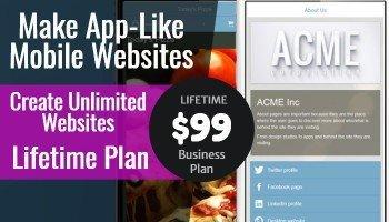 App Byte Mobile Website Builder: Get Lifetime Unlimited License (Business Plan)