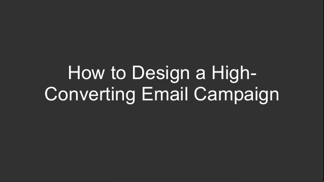 4 Ways to Design High-Converting Emails