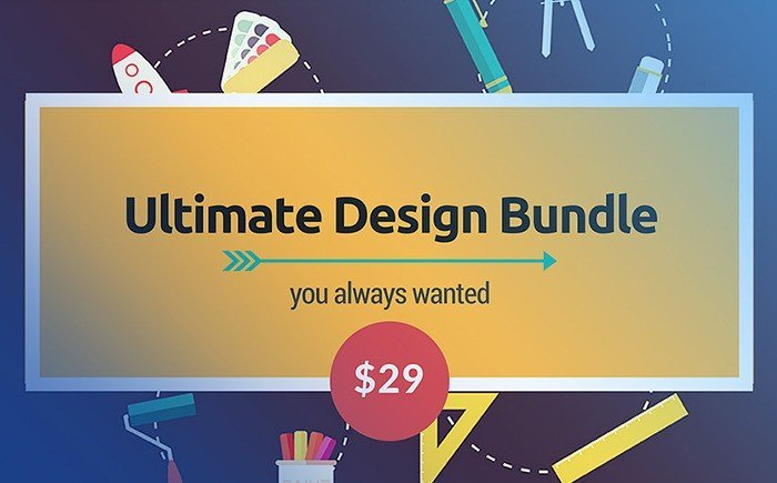 The Biggest Annual Essential Web Design Bundle – Only $29